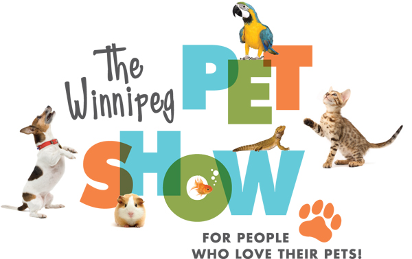 The Winnipeg Pet Show Logo with animals